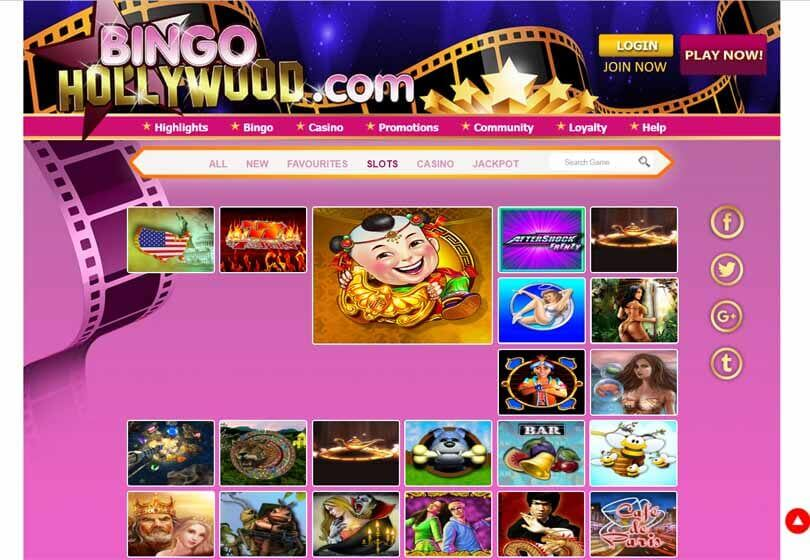 Bingo Hollywood Slots