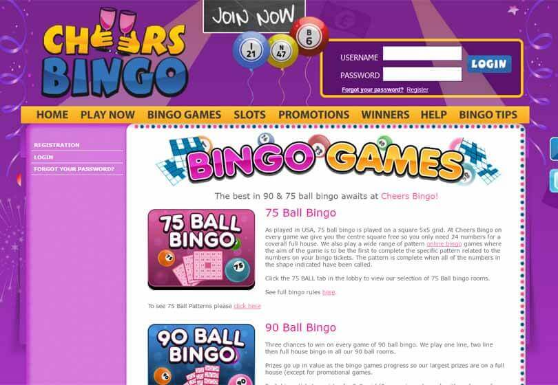 bingo cheers review