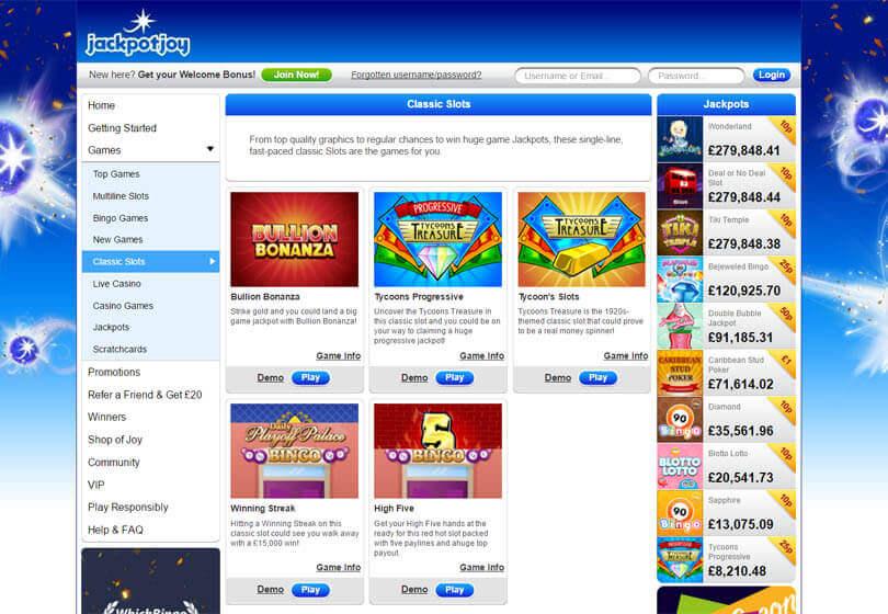 Jackpotjoy casino software gambling college sports