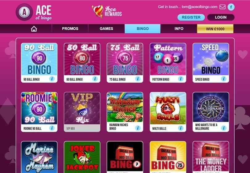 Bingo Cafe Sign Up