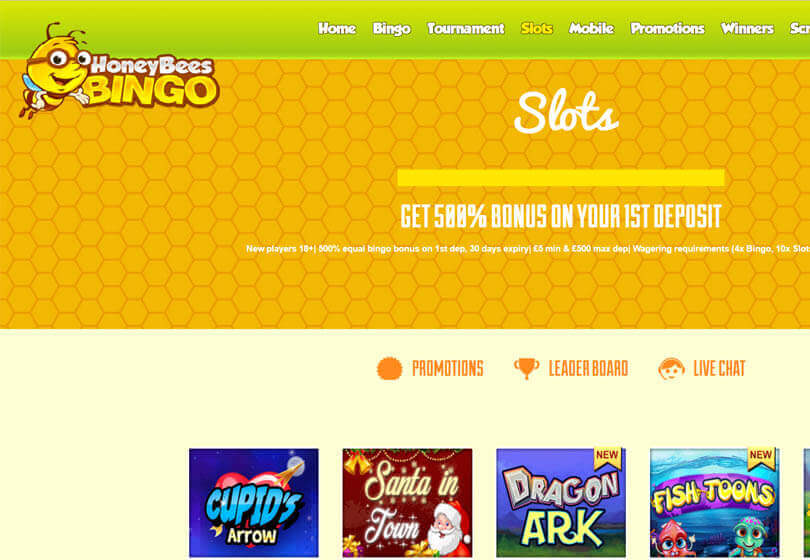 Honey Bees Bingo Slots