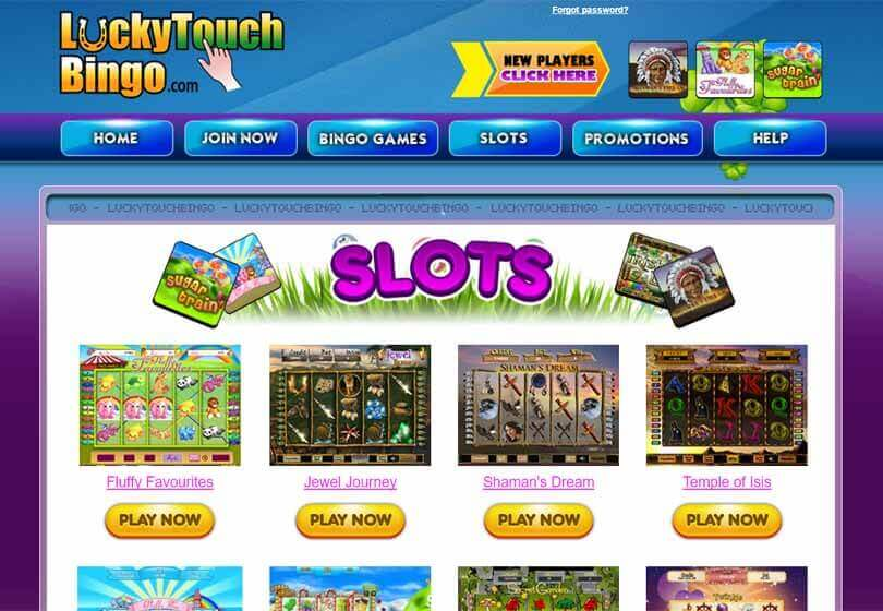 Lucky Touch Bingo Slots