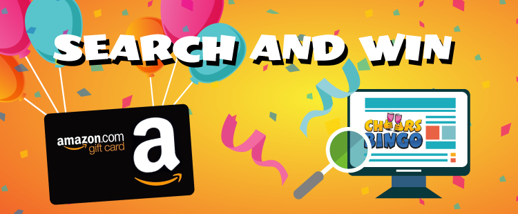 Get free Amazon voucher from Cheers Bingo